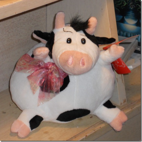 Second stuffed cow