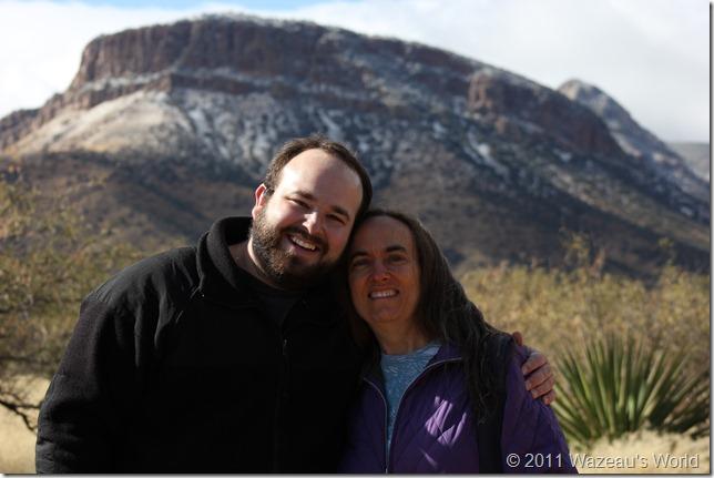 Tony and Cynthia, Tucson, December 2011